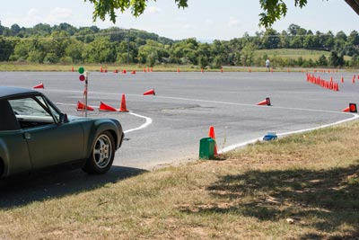 photo of autocross course at Verona