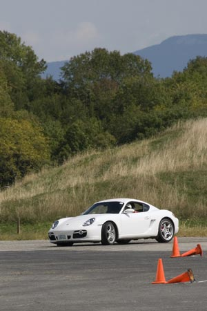 Porsche at the Shenandoah Region PCA autocross in Verona