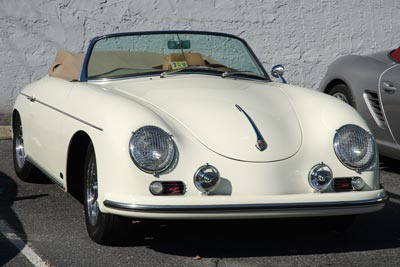 Porsche 356 at Shendandoah Region PCA Fall Foliage tour