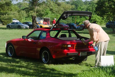Greg and his 944 at the 2013 RPM