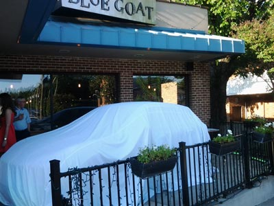 Covered Macan at Blue Goat
