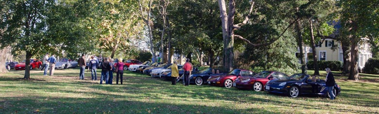 Photo of Porsches at Prospect Hill