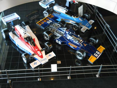 Overview of the Penske Museum