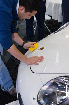 Installing paint-protection film