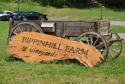 Photo of Pippin Hill Farm and Vineyards sign