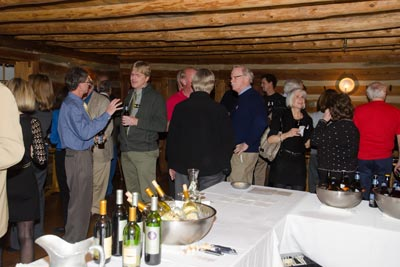 photo of the rescheduled Holiday Party in Michie Tavern