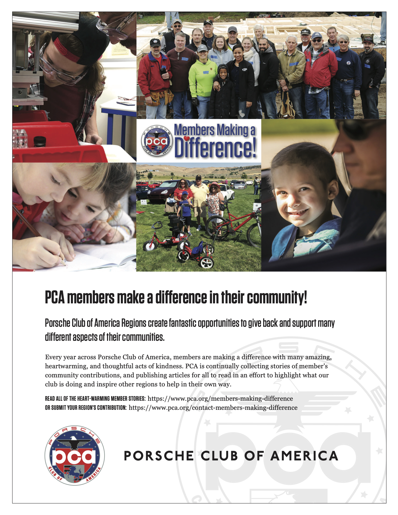 Members Making a Difference