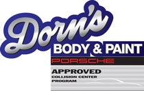 Dorn's Body & Paint web logo