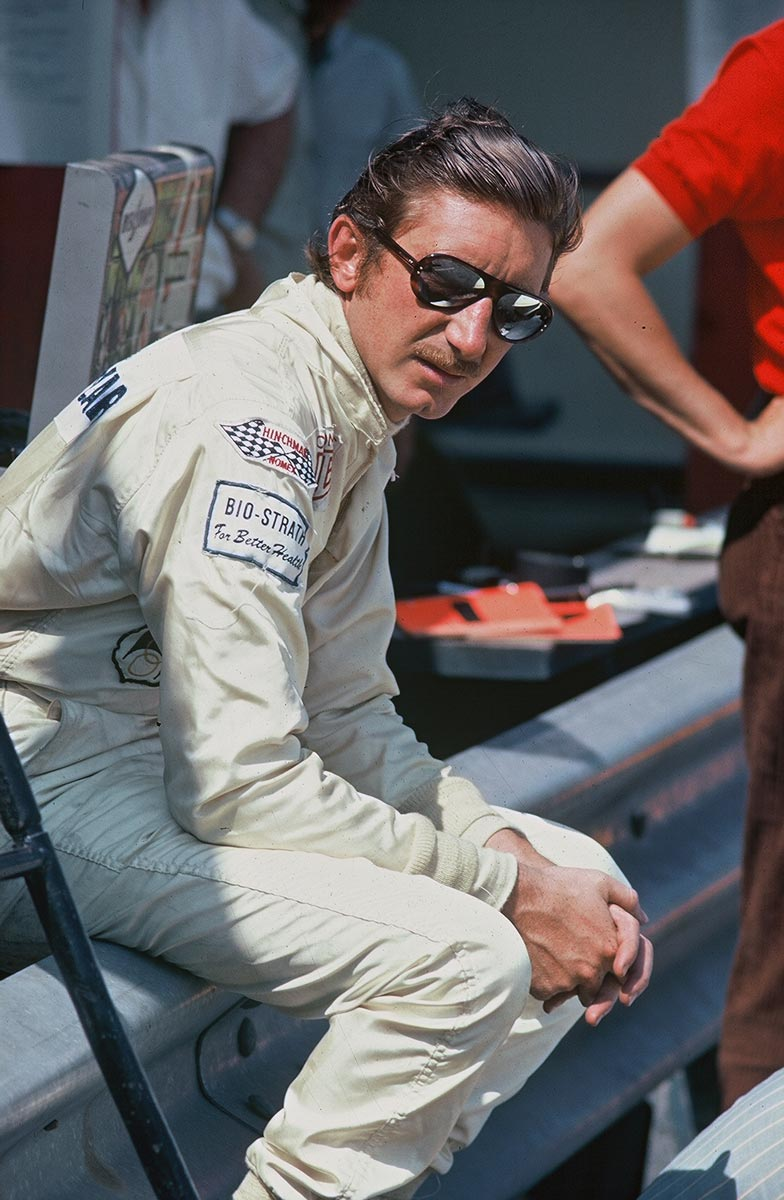 Jo Siffert Takes A Break On The Pit Wall At Elkhart Lake